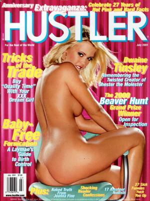 Hustler - July 2001