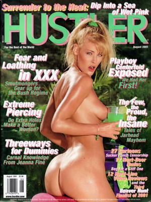 Hustler - August 2001