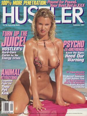 Hustler - September 2001