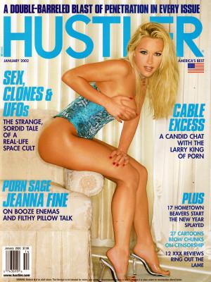 Hustler - January 2002