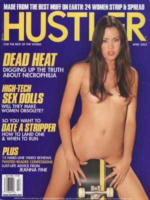 Hustler - April 2002