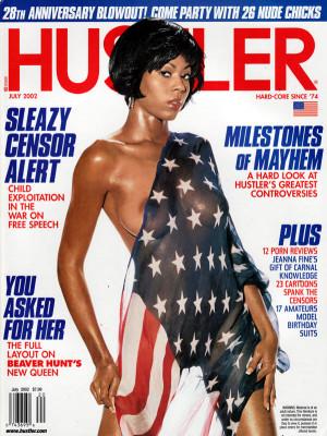 Hustler - July 2002