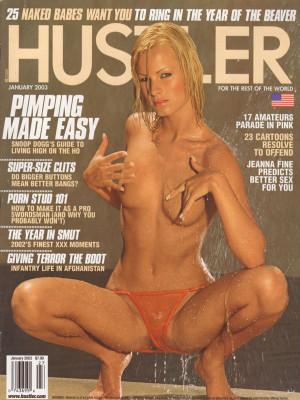 Hustler - January 2003