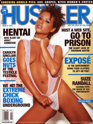 Hustler - March 2004