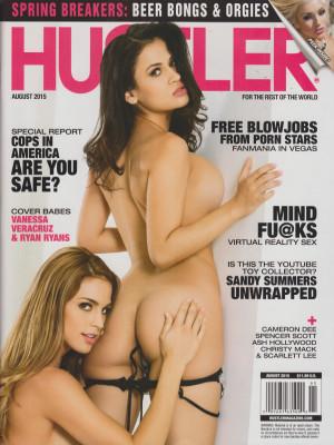 Hustler - August 2015