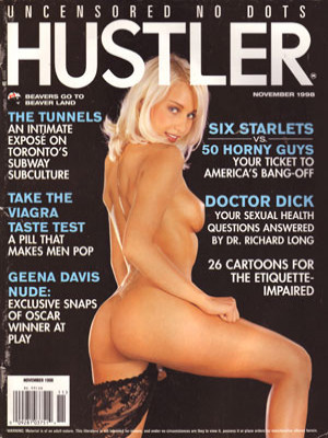 Hustler Canada - November 1998