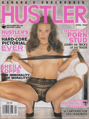 Hustler Canada - April 1999