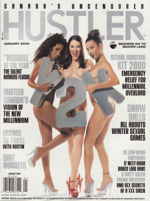 Hustler Canada - January 2000