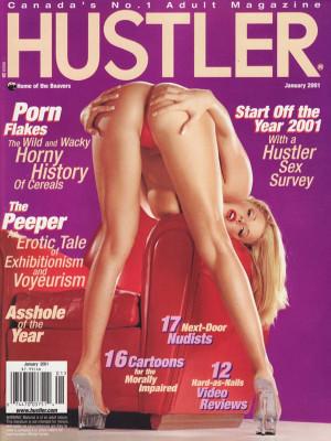 Hustler Canada - January 2001