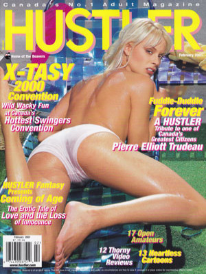 Hustler Canada - February 2001