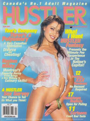 Hustler Canada - April 2001