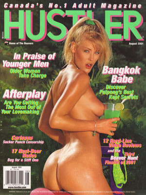 Hustler Canada - August 2001