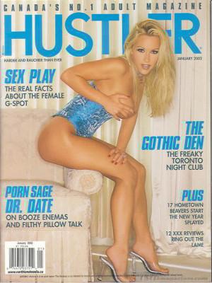Hustler Canada - Jan 2002