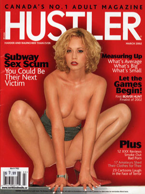 Hustler Canada - March 2002