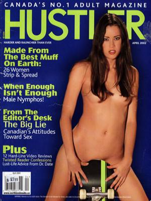 Hustler Canada - April 2002
