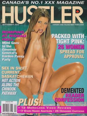 Hustler Canada - Sept 2002