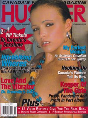 Hustler Canada - November 2002