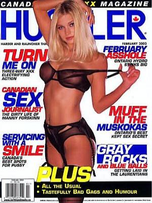 Hustler Canada - Feb 2003