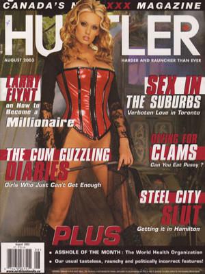 Hustler Canada - August 2003