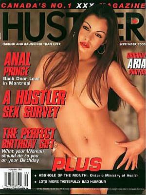 Hustler Canada - Sep 2003