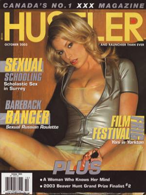 Hustler Canada - October 2003