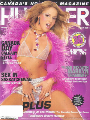 Hustler Canada - Jul 2004