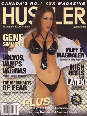 Hustler Canada - August 2004