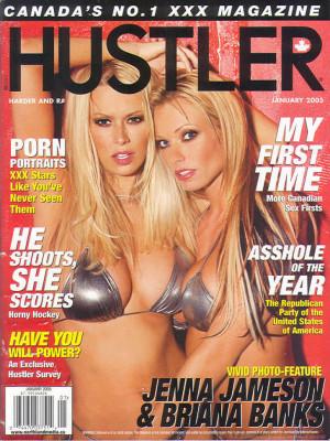 Hustler Canada - Jan 2005