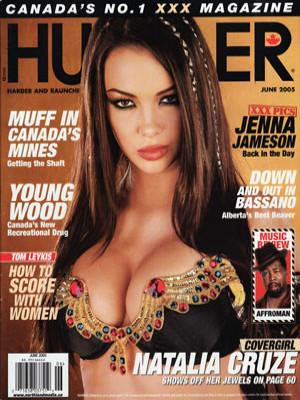 Hustler Canada - June 2005