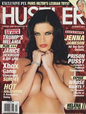 Hustler Canada - October 2005