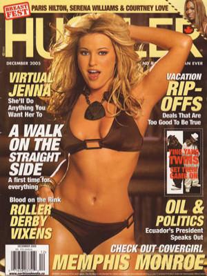 Hustler Canada - December 2005