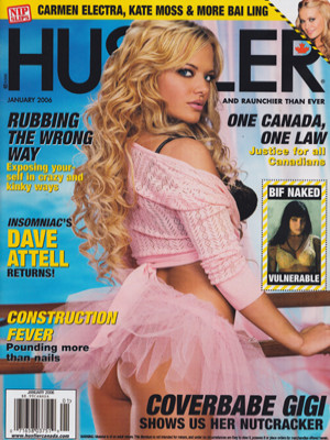 Hustler Canada - Jan 2006