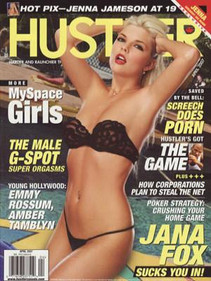 Hustler Canada - April 2007