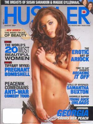 Hustler Canada - Aug 2007