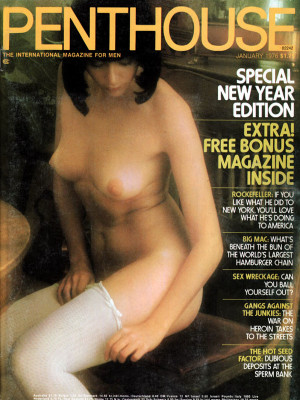 Penthouse Magazine - January 1976