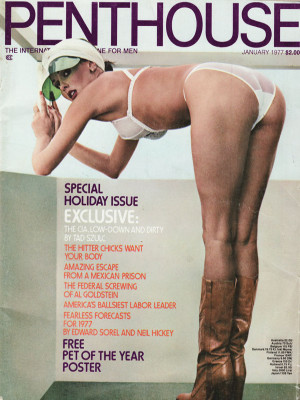 Penthouse Magazine - January 1977