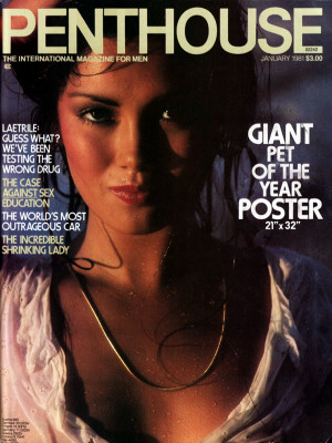 Penthouse Magazine - January 1981