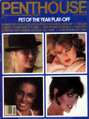 Penthouse Magazine - June 1981