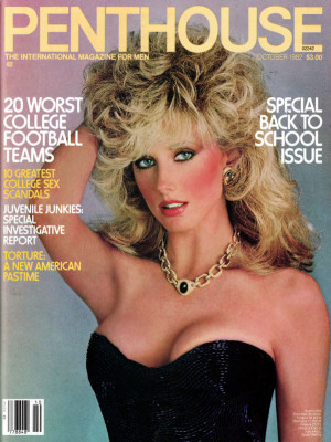 Penthouse Magazine - October 1982