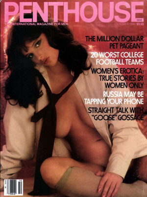 Penthouse Magazine - October 1984