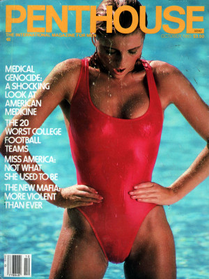 Penthouse Magazine - October 1985
