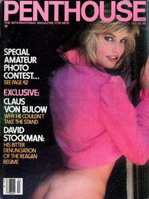 Penthouse Magazine - March 1986