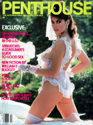 Penthouse Magazine - April 1986