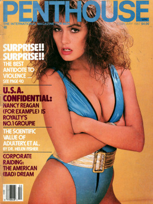 Penthouse Magazine - February 1987