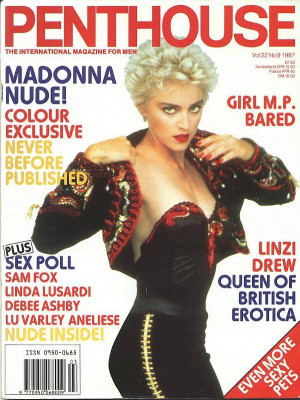 Penthouse Magazine - Madonna, Vol.22, No.9, 1987