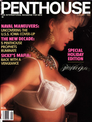 Penthouse Magazine - January 1990