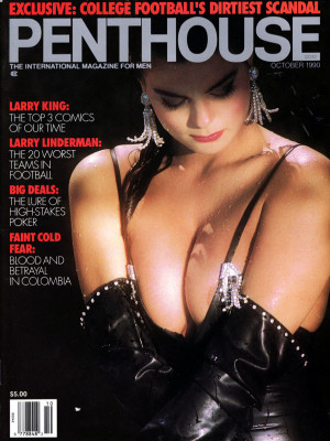 Penthouse Magazine - October 1990