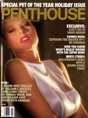 Penthouse Magazine - January 1991