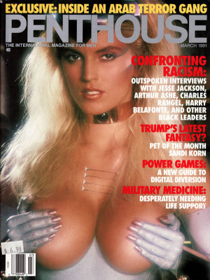 Penthouse Magazine - March 1991