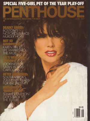 Penthouse Magazine - June 1991